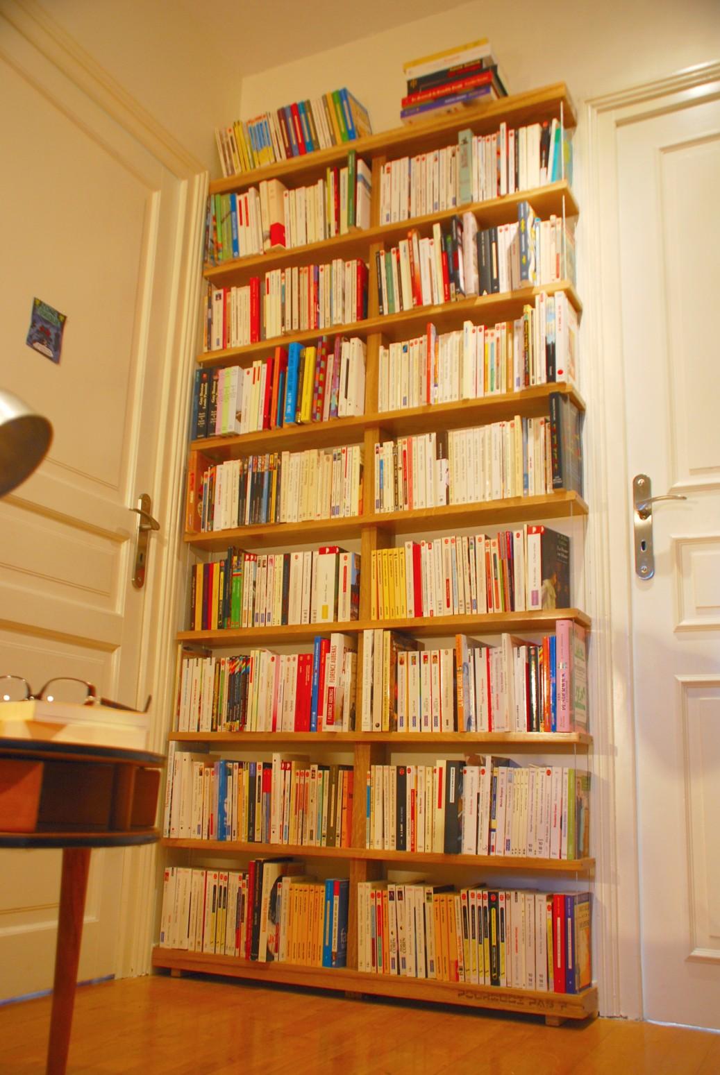 Biblioth que livre de poche - Meuble pour livre ...