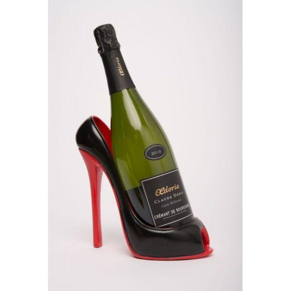 Porte bouteille vin chaussure