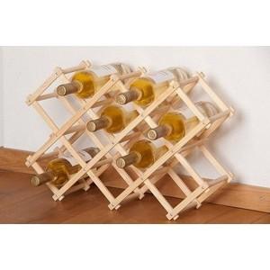 Porte bouteille bois flotte