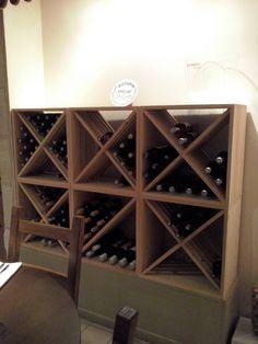 Casier cave a vin bois