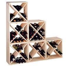 Range-bouteilles diy vertical