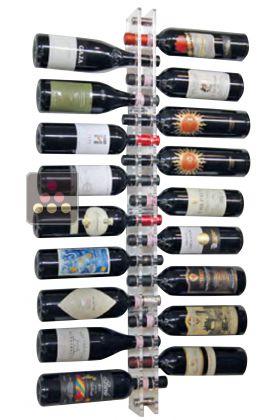 Porte bouteille vin mural