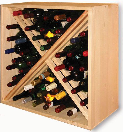 Rack a bouteille de vin