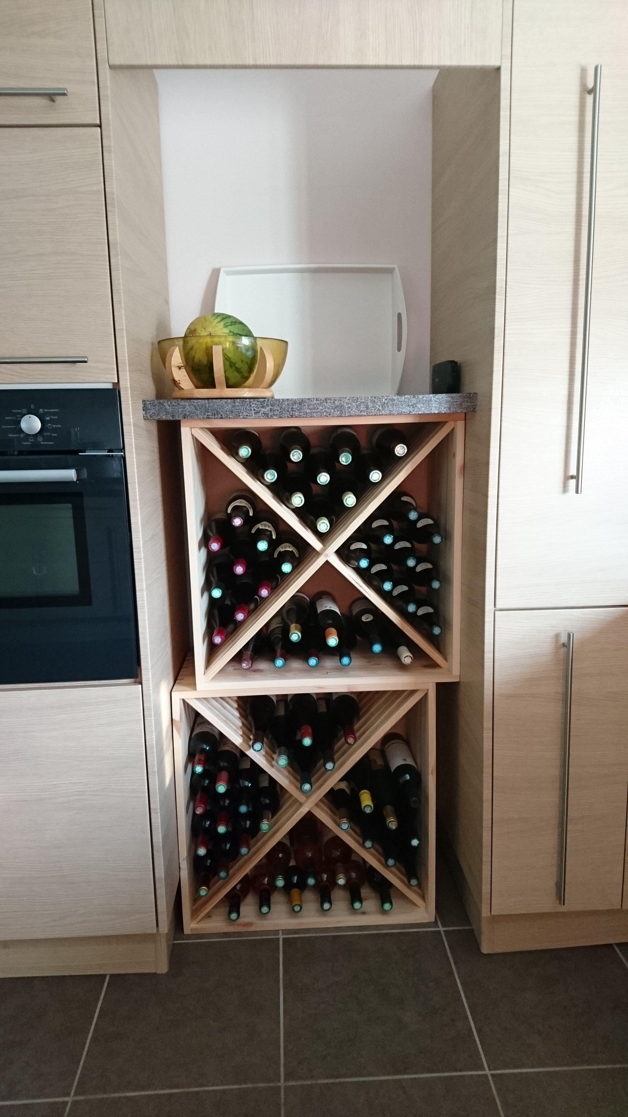 Casier pour bouteille de vin