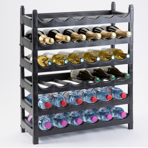 Casier à bouteilles plastique