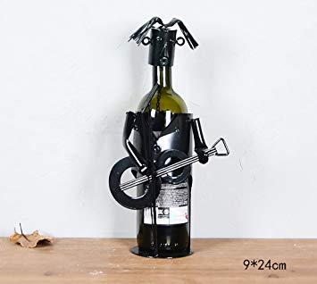 Porte bouteille fer personnage