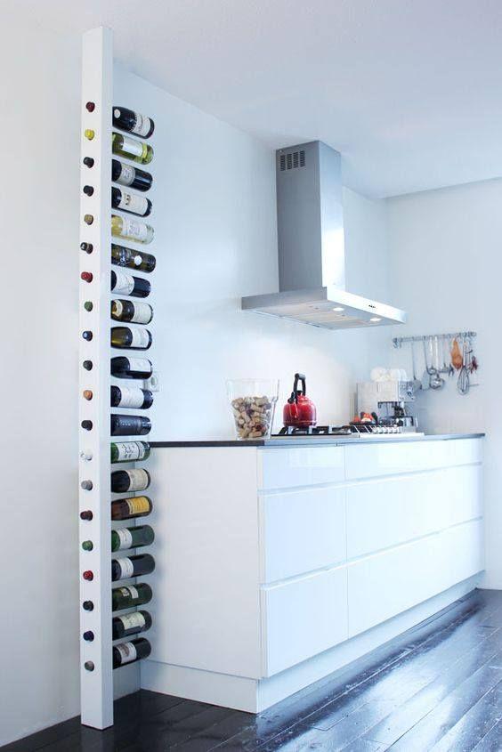 casier à bouteille pour cuisine aménagée  livreetvinfr