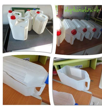 Astuce rangement bouteille eau