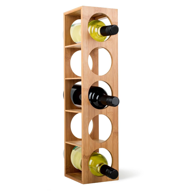Range bouteille en colonne