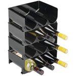 Casier bouteille vin plastique