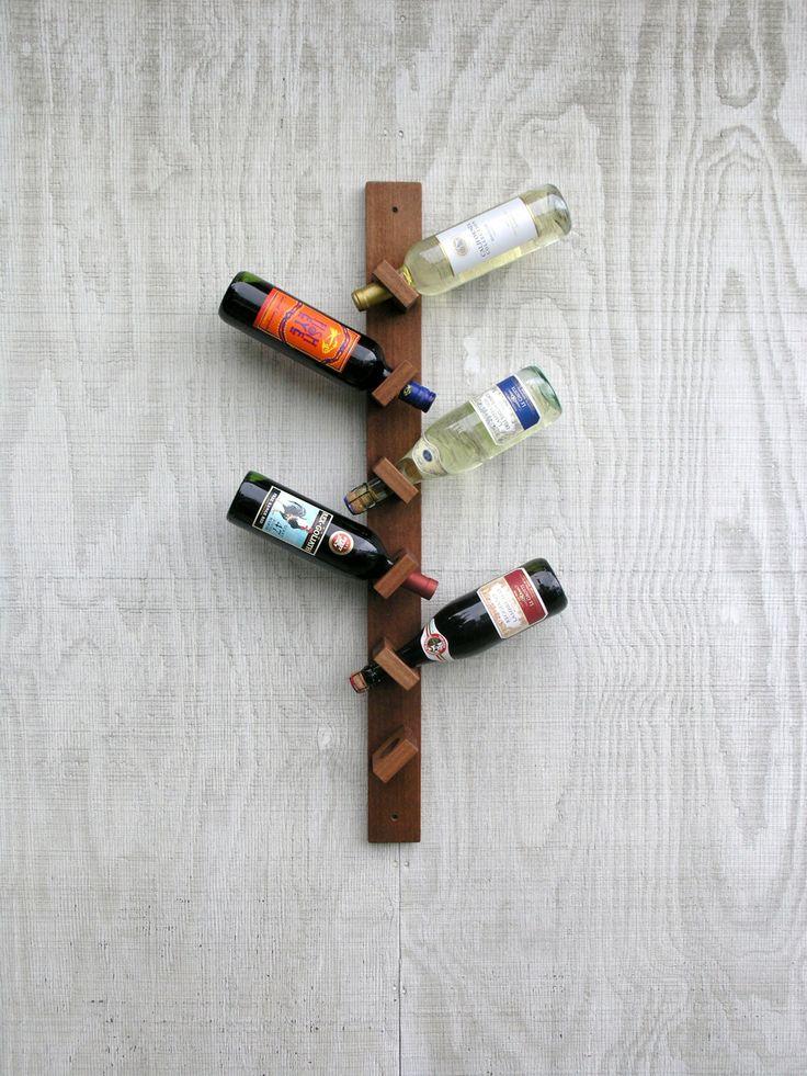 Range bouteille bois palette - Livreetvin.fr