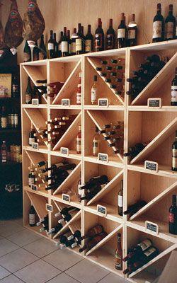 Cave a vin rangement bouteille