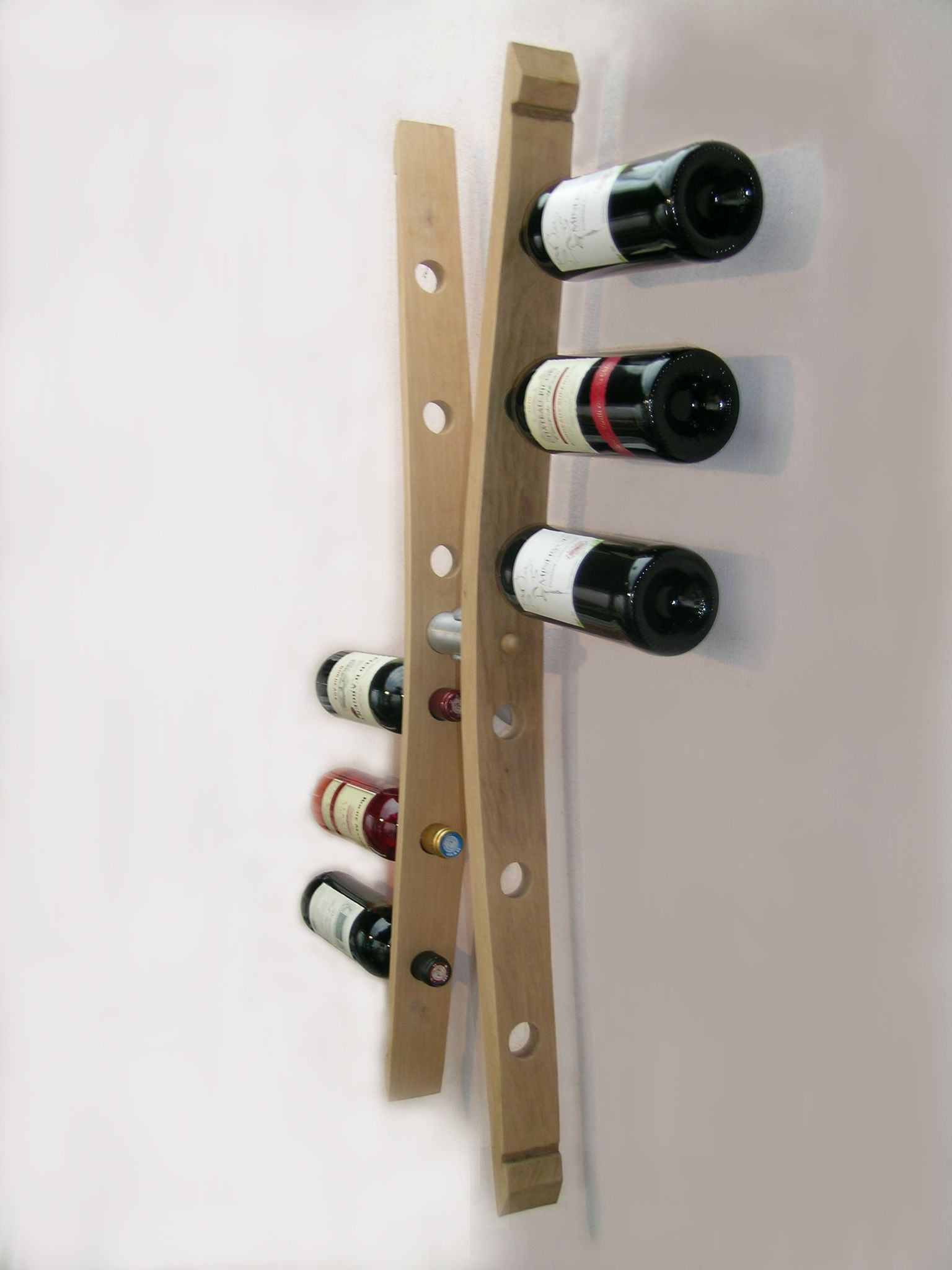Range bouteille design inox