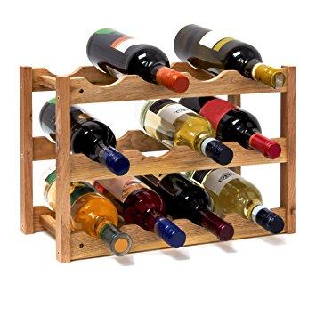 Casiers à bouteilles en bois
