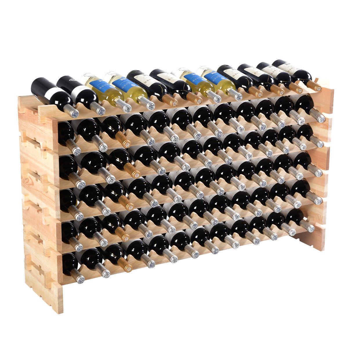 Porte bouteille vin diy
