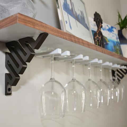 étagère verre vin