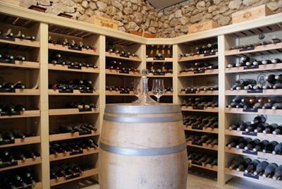 Etagere pour vin