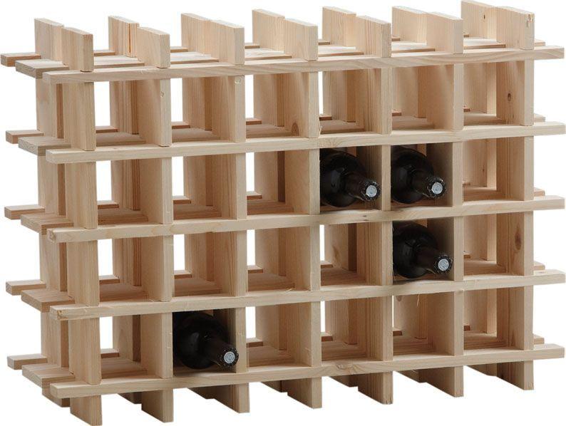 Comment fabriquer un casier à bouteilles en bois