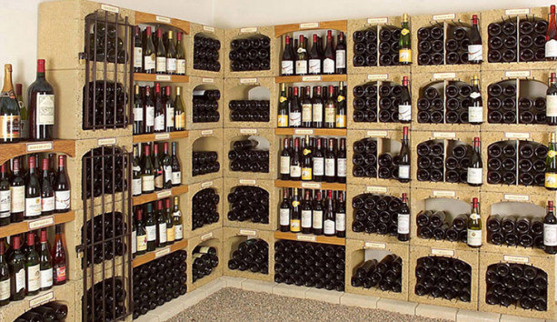 Rangement pour cave a vin