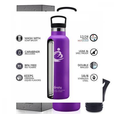 Porte-bouteille d'eau en acier inoxydable avec bec verseur