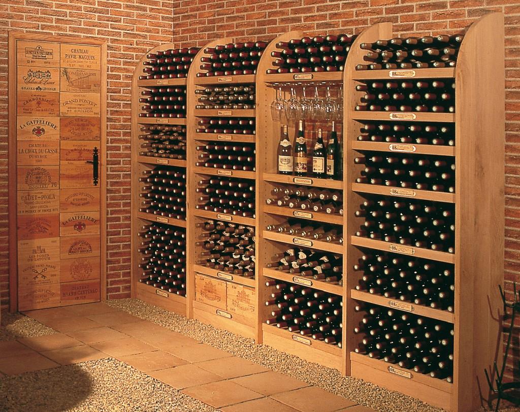 étagère à vin suisse