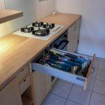 Range bouteille tiroir cuisine ikea