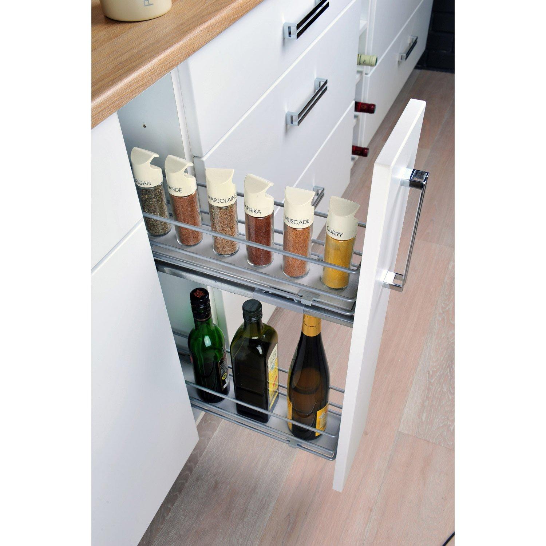 Range bouteille meuble cuisine ikea