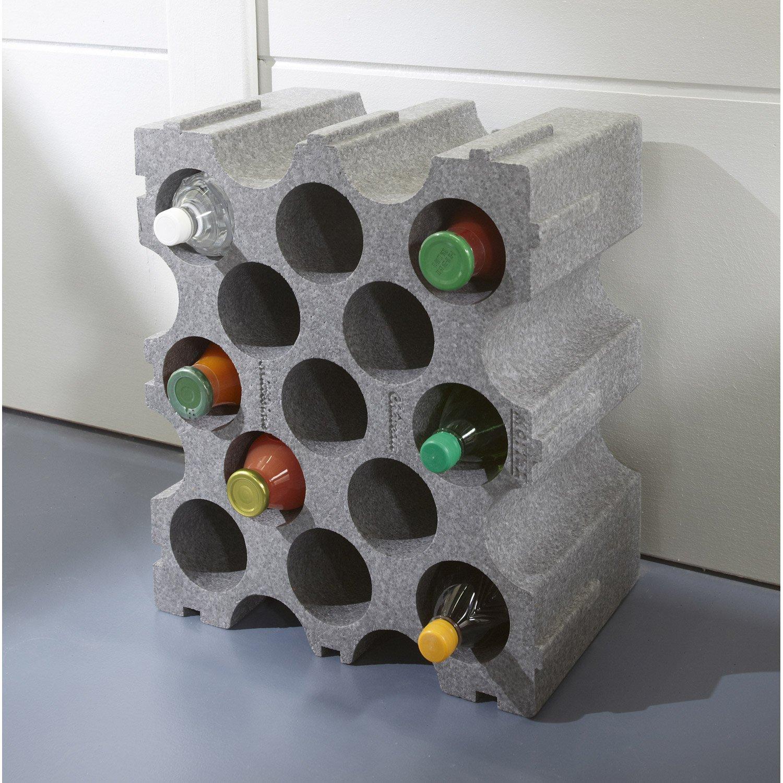 Range bouteille polystyrene belgique