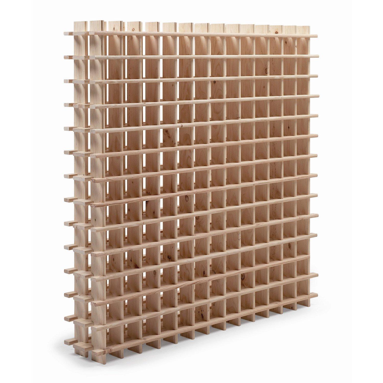 Rangement cave a vin en bois