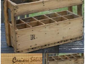 Plan casier a bouteille en bois