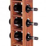 Casier bouteille vertical bois