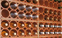 Casier bouteille terre cuite 10 trous