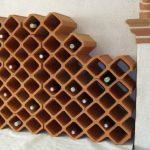 Casier brique pour bouteille