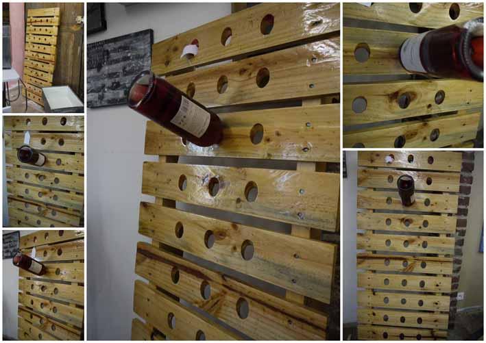 Range bouteille de vin en palette - Livreetvin.fr