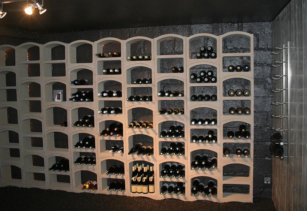 Casier bouteille vin pierre