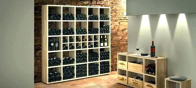 Rangement bouteille de vin deco