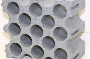Range bouteille polystyrene weldom