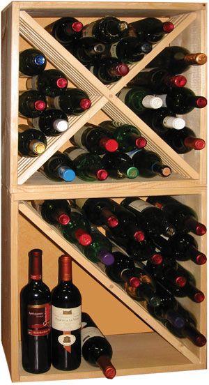 Porte bouteille vin deco