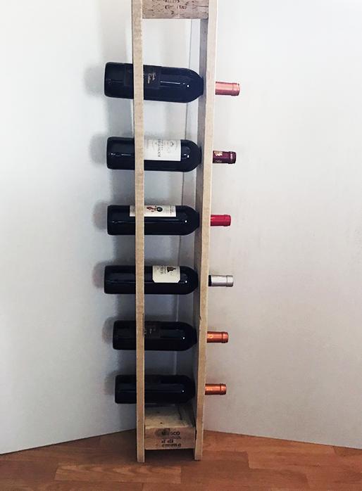 Range bouteille palette