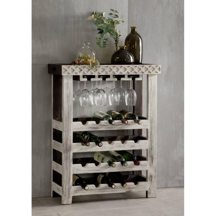 étagère à vin antik