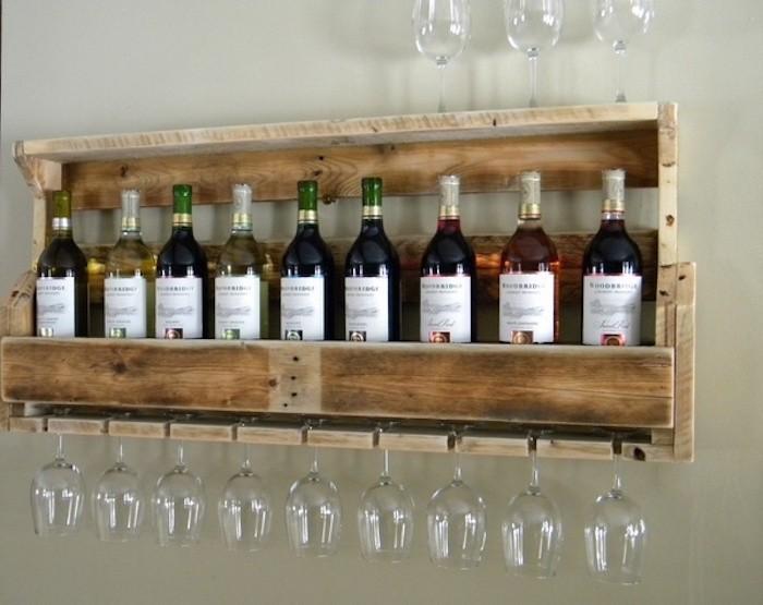 Comment fabriquer une etagere a vin