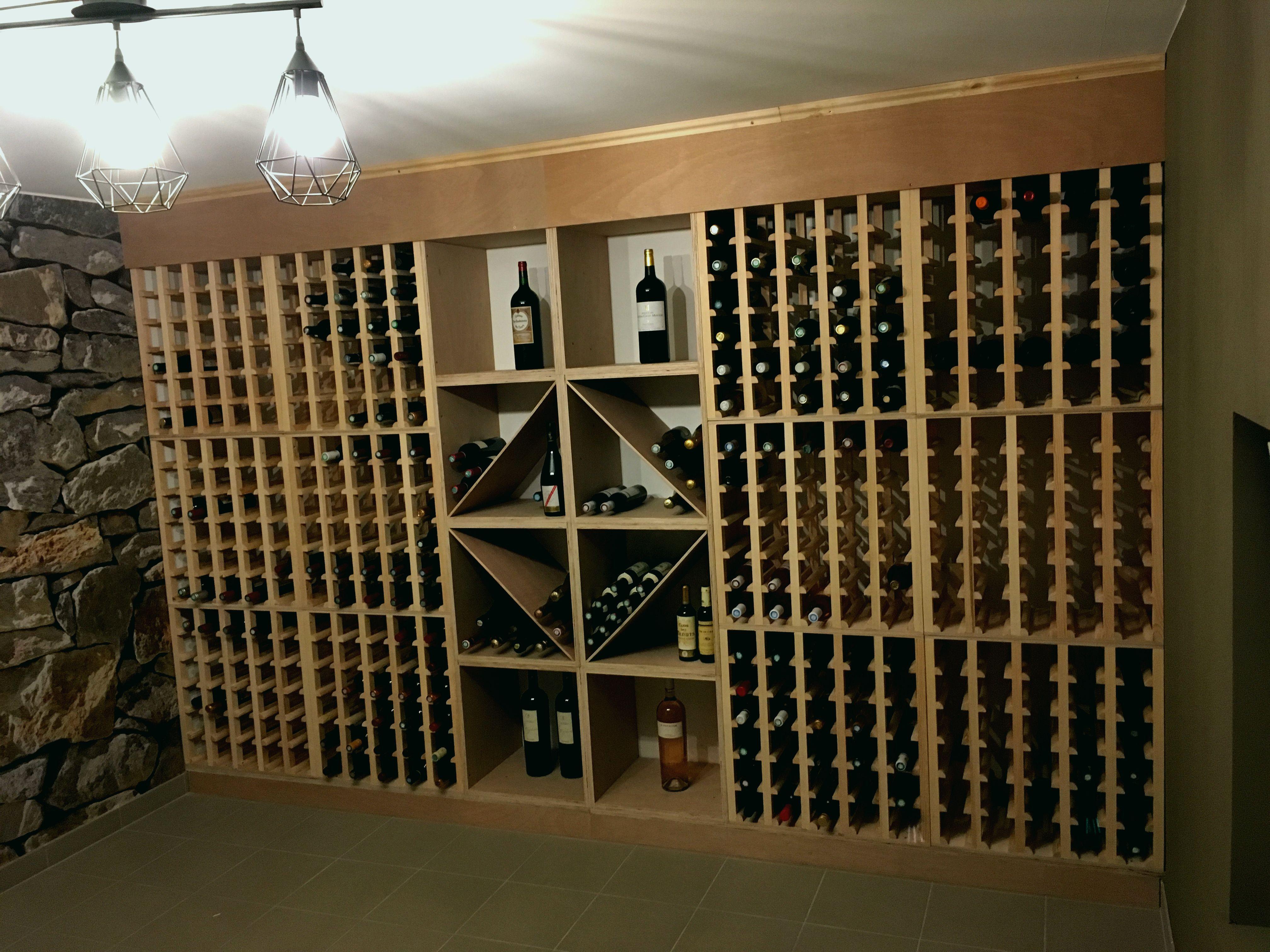 Etagere cave vin