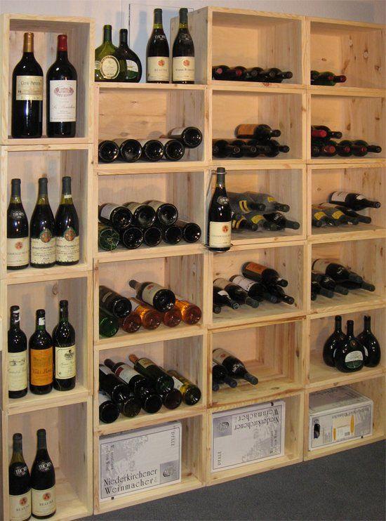 Etagere a vin moderne