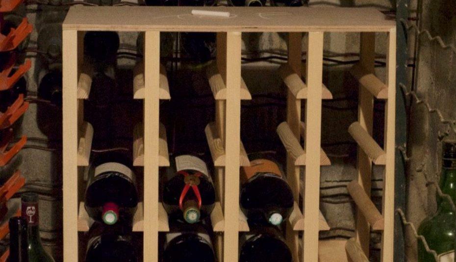 Rayonnage pour cave à vin