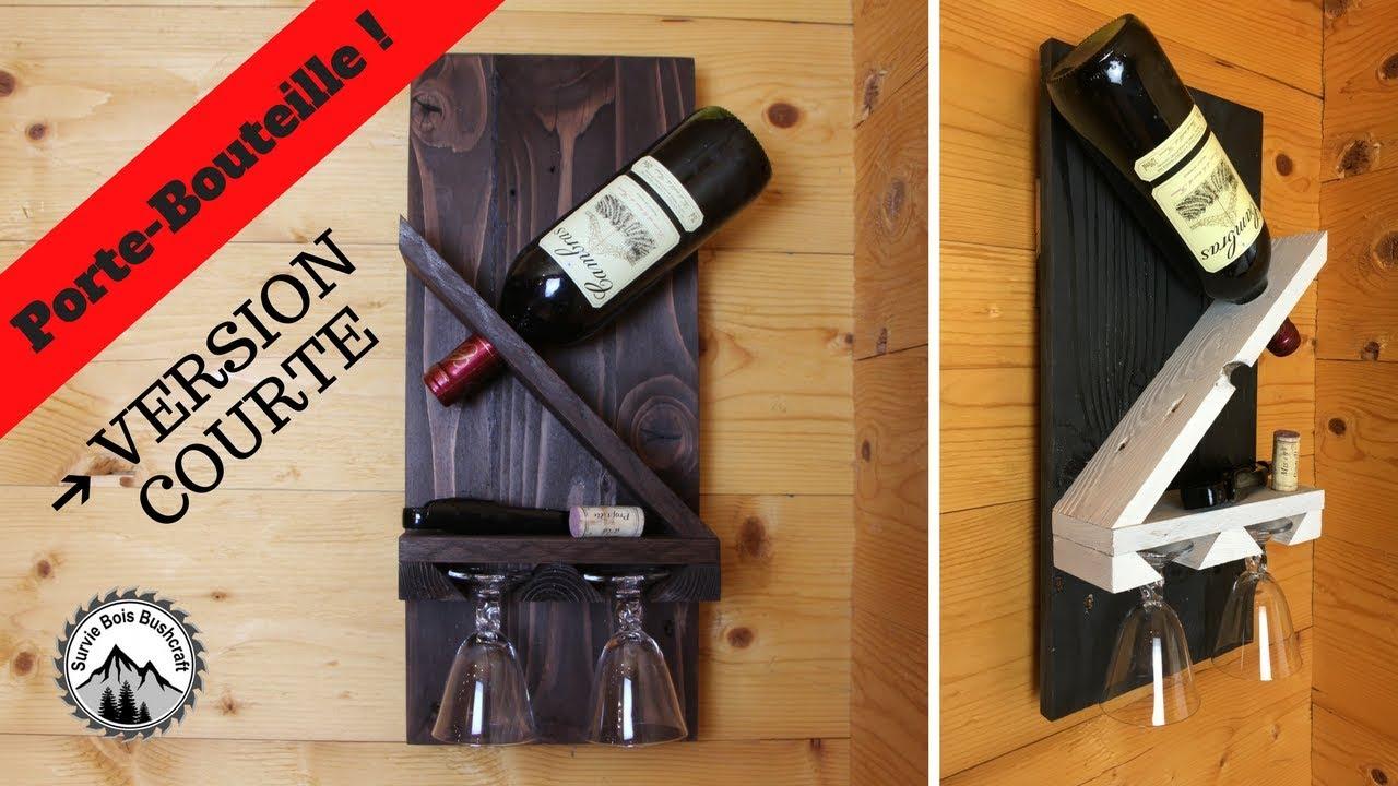 Porte bouteille de vin palette