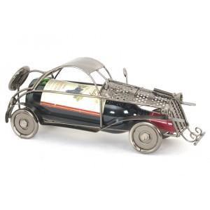 Porte bouteille metal voiture