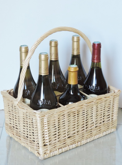 Range bouteille osier
