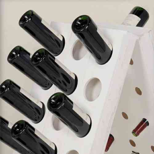Porte bouteille de vin original