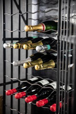 Porte bouteille vin vintage