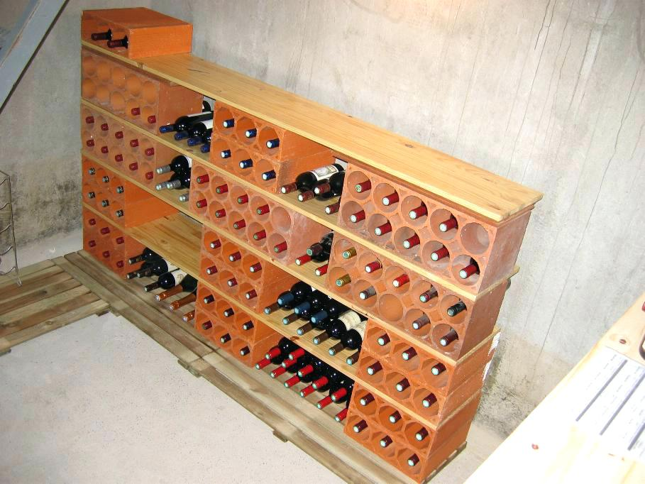 Range bouteille cave ikea
